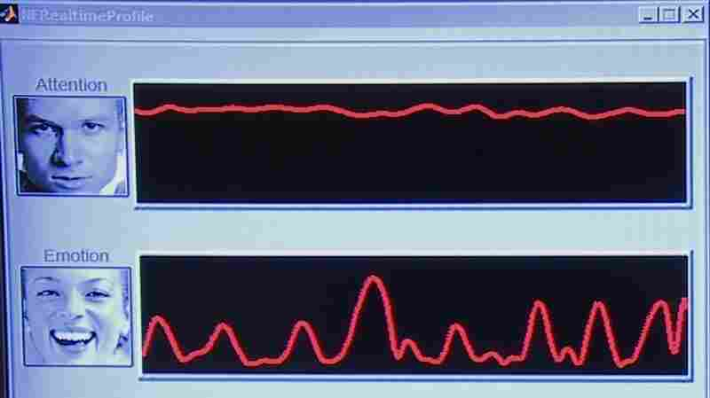 These are Maya's electroencephalograph (EEG) results while viewing a Honda  commercial.