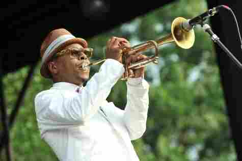 Roy Hargrove performs with the RH Factor at the 2011 DC Jazz Festival's concert on the National Mall.