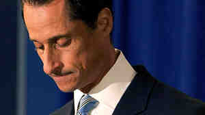 June 6, 2011: Rep. Anthony Weiner (D-NY) admits to inappropriate Internet exchanges and lying about them.