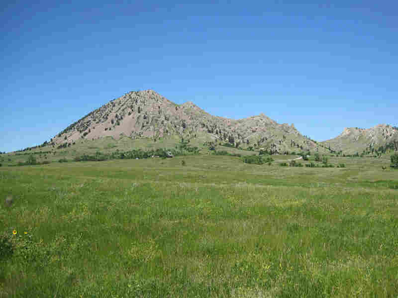 Bear Butte, a mountain in the Black Hills of Meade County, S.D., is sacred ground for many Native American tribes. It is threatened by proposed wind and oil energy development.