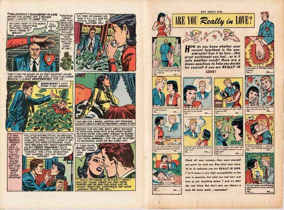 Boy Meets Girl, Issue #1, February 1950.