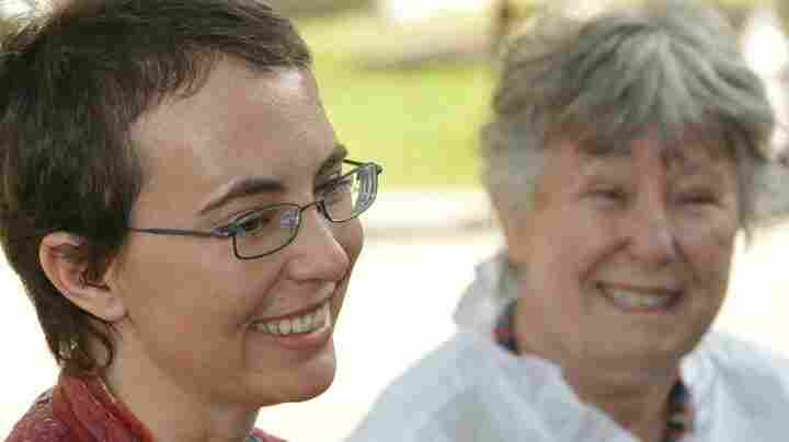 This photo of Rep. Gabrielle Giffords (left) and her mother, Gloria Giffords, was posted on her Facebook page June 12, 2011.