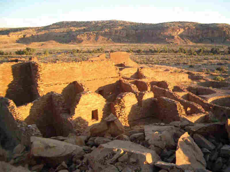 Starting in A.D. 700, New Mexico was home to prehistoric farmers called the Chacoan people. Thousands of ancient pueblos and shrines remain in the Greater Chaco Landscape.