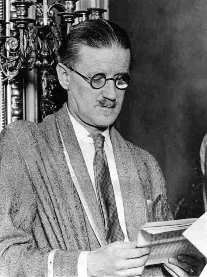 Irish author James Joyce, seen here in 1931.