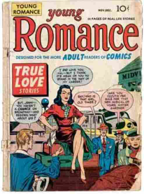 Young Romance, Issue #2, November-December 1947.