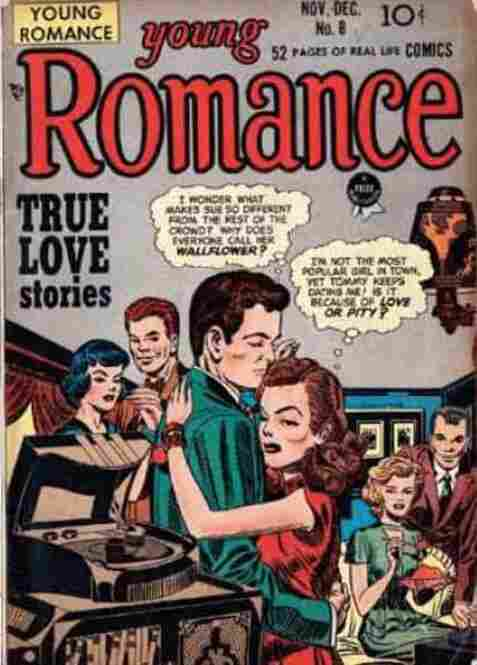 Young Romance, Issue #8, November-December 1948.