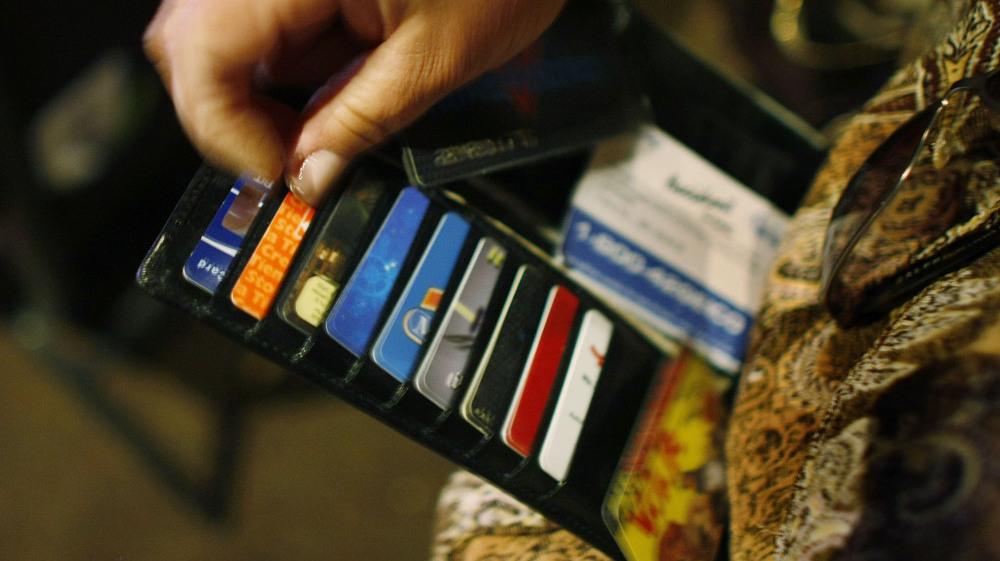 At This Mall The Credit Cards Are For Sale : Planet Money : NPR
