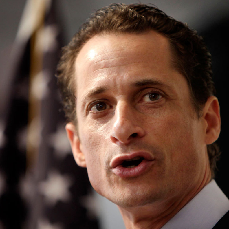 Anthony Weiner speaks to the media during a  news conference in New York, Thursday, June 16, 2011.