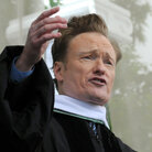 Conan O'Brien, as he delivered the commencement address at Dartmouth College in Hanover, N.H., on June 12, 2011
