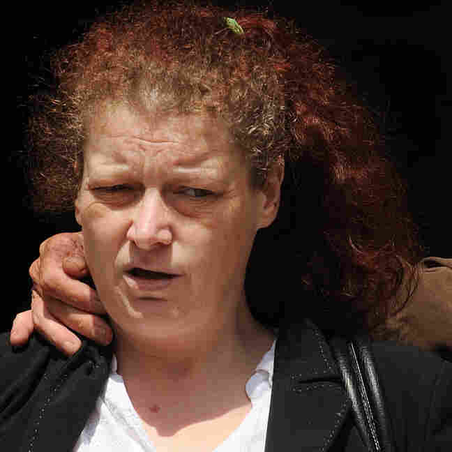 Joanne Fraill, who has been sentenced to eight months in jail for contempt of court. She contacted a defendant on the Web.