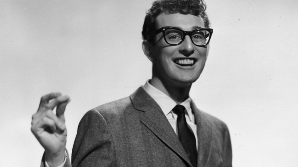 Rave On Buddy Holly, a tribute to the rock 'n' roll pioneer, features Holly covers by Paul McCartney, The Black Keys, Patti Smith and many more. The album comes out June 28. (Getty Images)