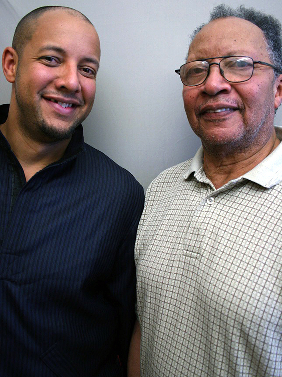 Walter Dean Myers, 73, spoke with his son, Christopher Myers, 36, about his efforts to make an impression on his father.