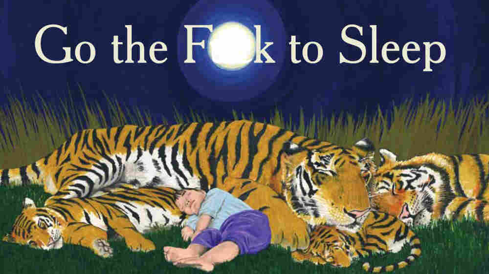 """The cover of Adam Mansbach's new """"children's book for adults."""""""