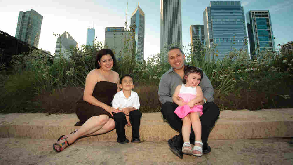 Ray Salazar and his family.