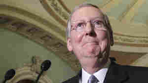 Senate Minority Leader Mitch McConnell wants two suspected terrorists to be imprisoned at Guantanamo Bay instead of in his home state of Kentucky.