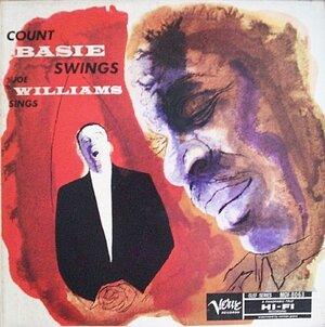 The cover of Count Basie Swings, Joe Williams Sings