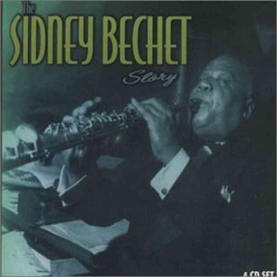 The cover of The Sidney Bechet Story