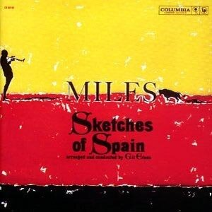 The cover of Sketches of Spain