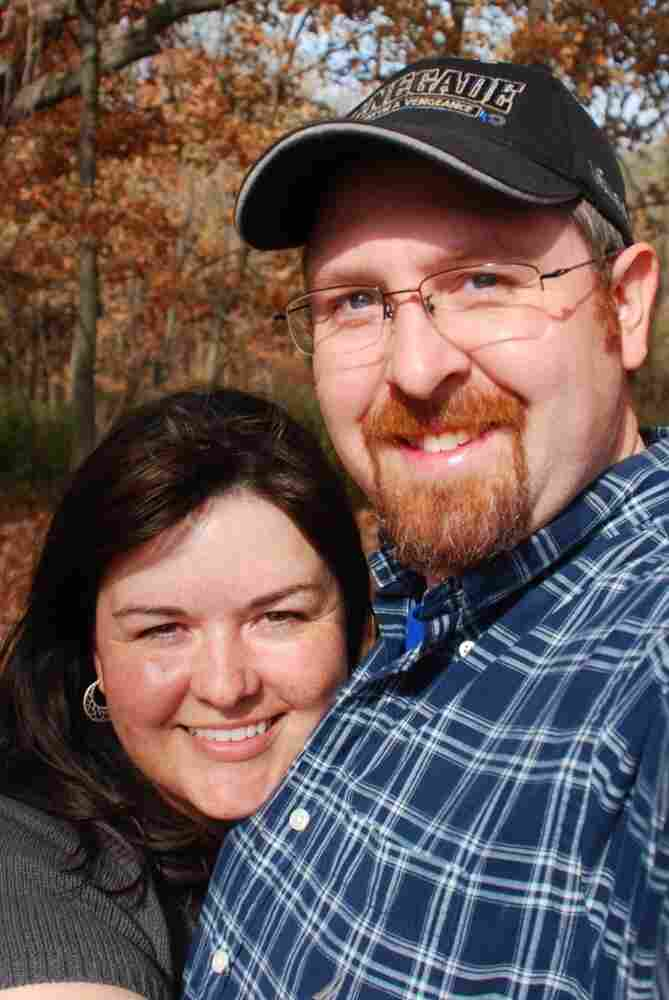 Andrea with her husband, Jeff.