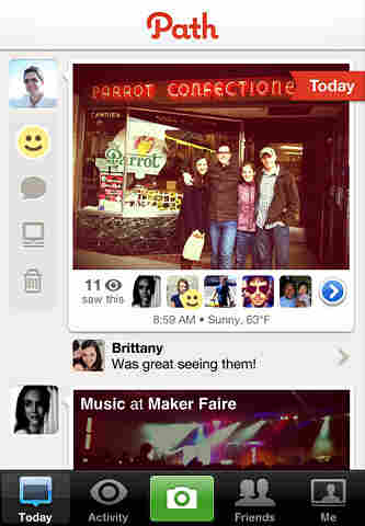 The photo-sharing service Path allows its users to have a maximum of 50 friends.