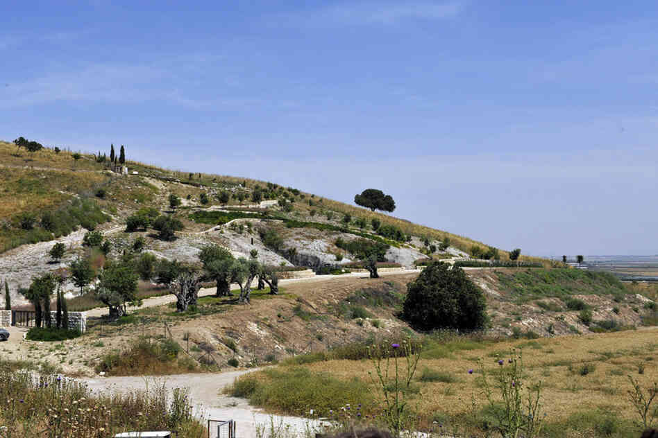 The town of Beit She'arim dates back to the first century B.C., but the heyday of its necropolis — city of the dead — dates to the second and fifth centuries. It was a prominent burial place. Today the site is a national park.