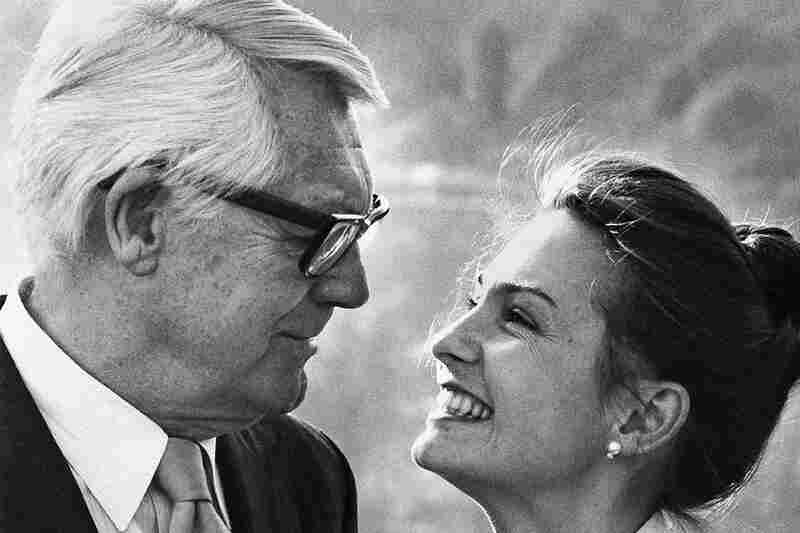Cary Grant and Dyan Cannon divorced, but Grant remarried in the '80s. Here Grant poses with wife Barbara in Beverly Hills in 1981.