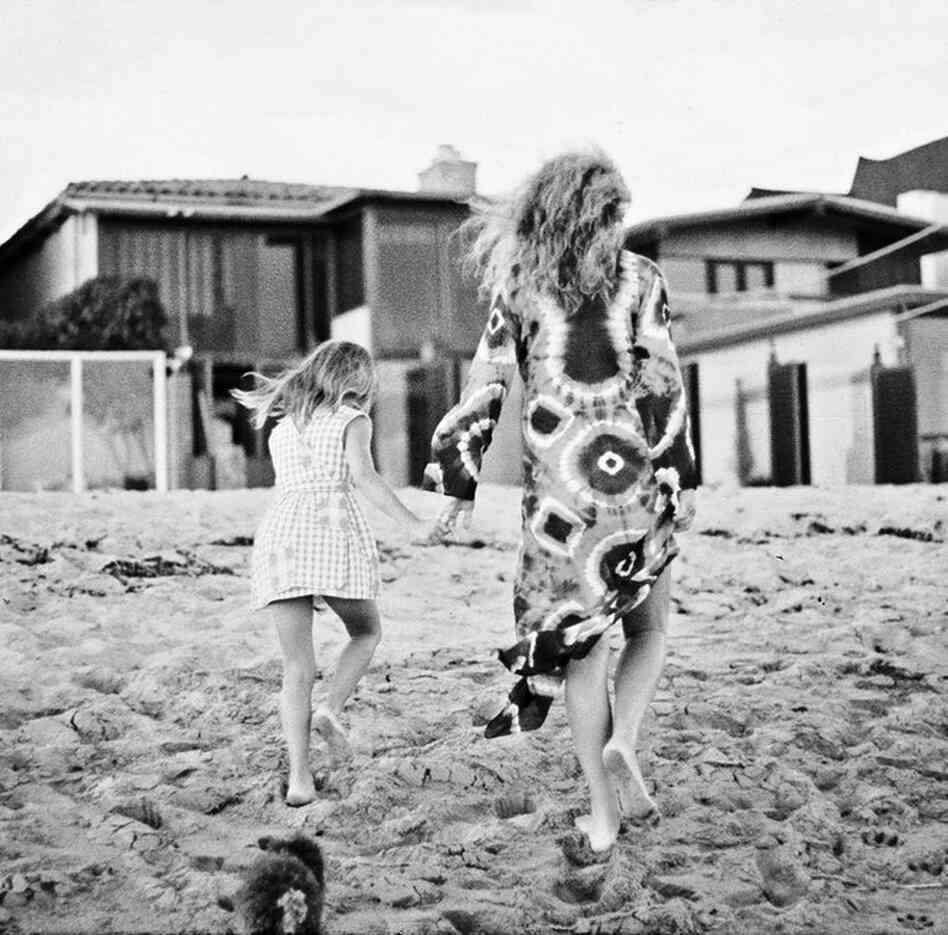 Cary Grant was known for taking and carefully labeling countless photos of his family. Here, Jennifer and her mother, actress Dyan Cannon, walk to their Malibu home around 1975.