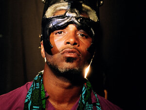 Ishmael Butler, alumnus of Digable Planets and leader of Shabazz Palaces.