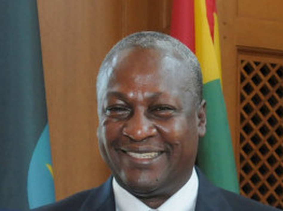 John Dramani Mahama, vice president of the Republic of Ghana, at the Yale Global Health Leadership Institute Conference in early June.
