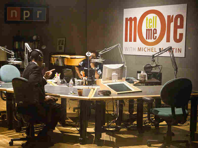 Host Michel Martin speaks with Graves at NPR's Washington studio about his Obama impersonations.