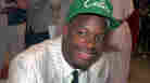 Len Bias wears a Boston Celtics hat after being selected as the No. 2 pick in the 1986 NBA draft.
