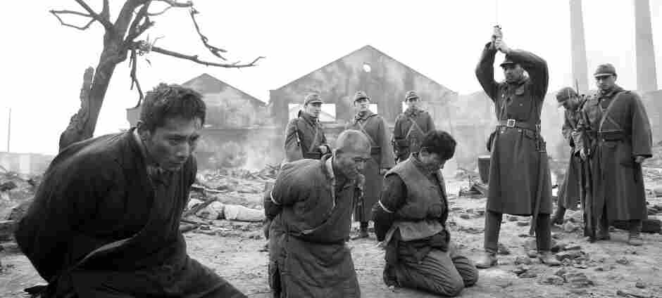 A scene from the film City of Life and Death, written and directed by Lu Chuan.