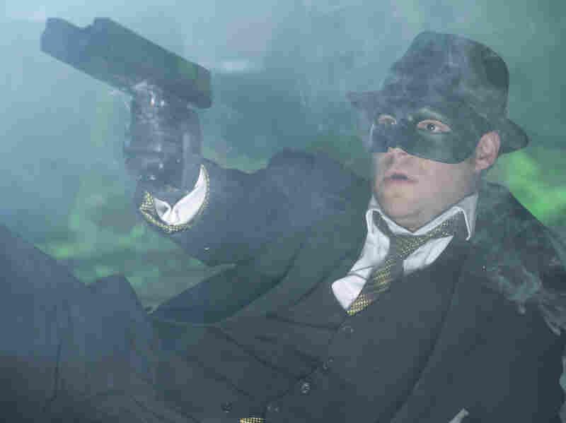 Seth Rogen plays Britt Reid in The Green Hornet.