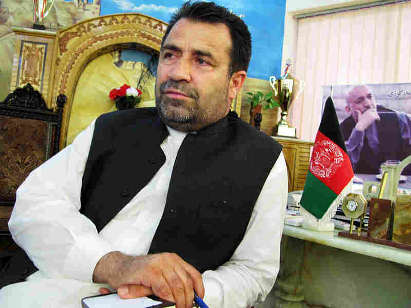 Gulab Mangal, the governor of Afghanistan's southern Helmand province, says his security forces are ready to take control in the provincial capital of Lashkar Gah.