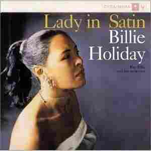 The cover of Lady in Satin