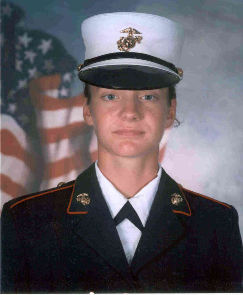 Jess Goodell spent eight months in the the Marine Corps' Mortuary Affairs unit, cataloging the  bodies and personal effects of fallen troops in Iraq. She now lives in Buffalo, N.Y., and plans to attend graduate school in the fall.