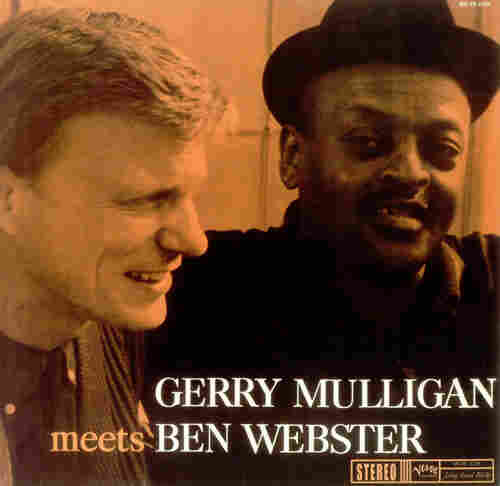 The cover of Gerry Mulligan Meets Ben Webster