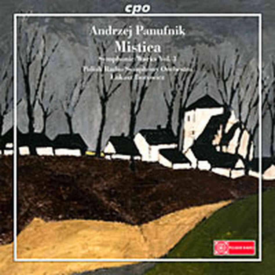 Cover art for Andrzej Panufnik Symphonic works.