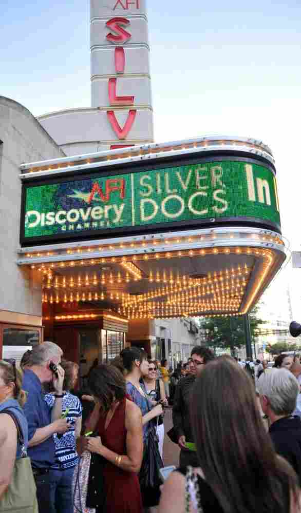 Last year's Silverdocs opening night featured a long line.