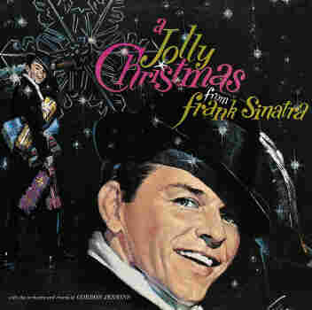 The cover of Jolly Christmas from Frank Sinatra