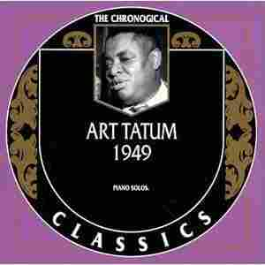 The cover of The Chronological Art Tatum: 1949