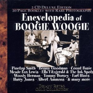 The cover of Encyclopedia of Boogie Woogie (originally 'The Boogie Woogie Anthology')