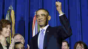 President Obama after signing the Don't Ask, Don't Tell Repeal Act of 2010 into law on Dec. 22, 2010.
