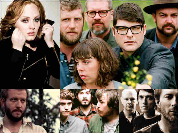 A collage of artists featured on the show.