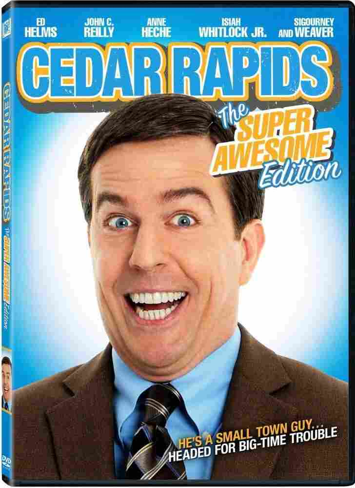 """The cover of the """"Super Awesome Edition"""" of Cedar Rapids."""
