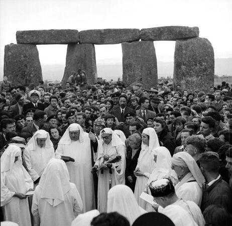 Stonehenge, 1956