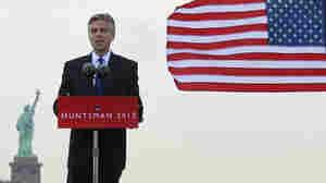 Former Utah Gov. Jon Huntsman announces his bid for the 2012 Republican presidential nomination Tuesday.