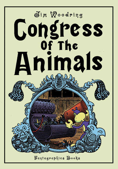 Congress Of The Animals, by Jim Woodring