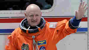 Astronaut Mark Kelly on April 29, 2011.