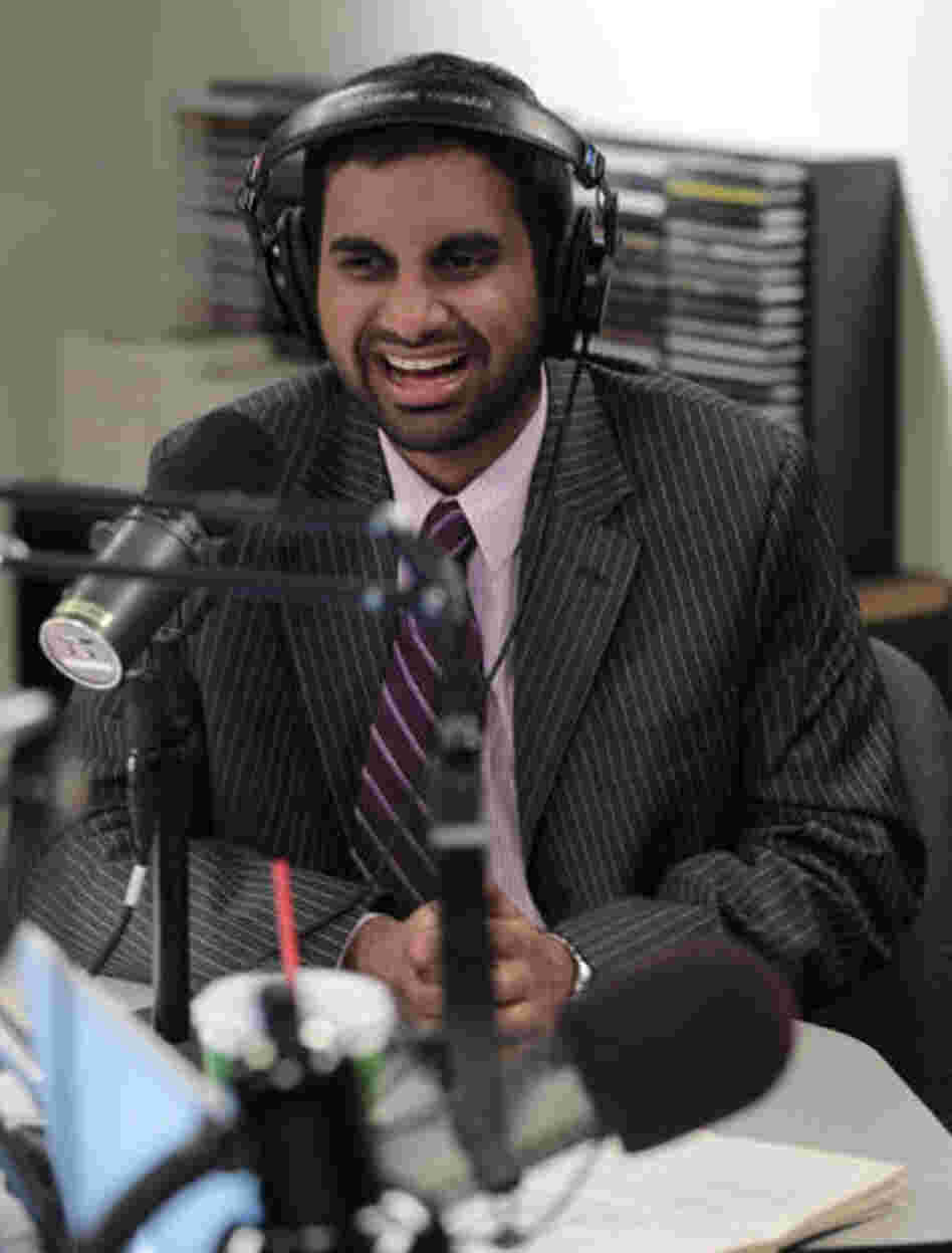 Aziz Ansari stars as Tom Haverford on NBC's Parks And Recreation.